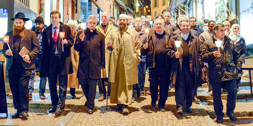 interfaith procession